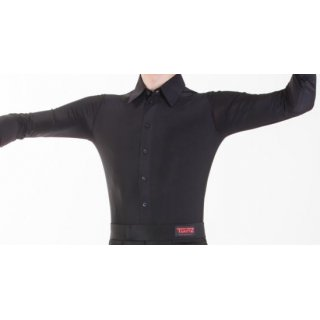 Man tight shirt black S-1 (until 182cm height)