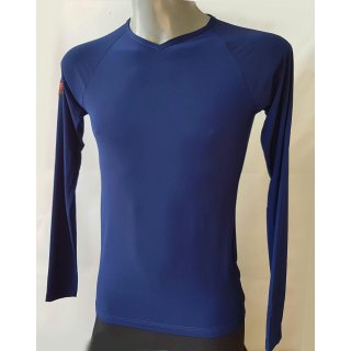 Practise shirt -  long sleeve - blue