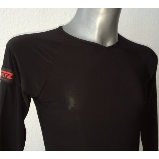 Practise shirt -  long sleeve - black